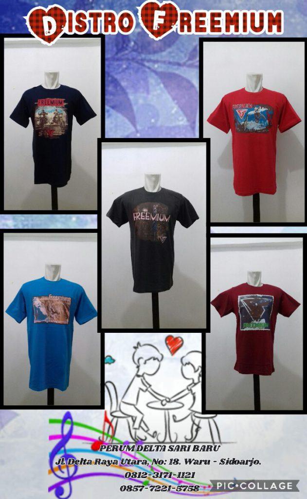 Bahan Kaos Distro Branded Berkualitas di Surabaya